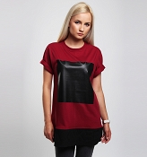 T-SHIRT BLACK POINT WOMEN