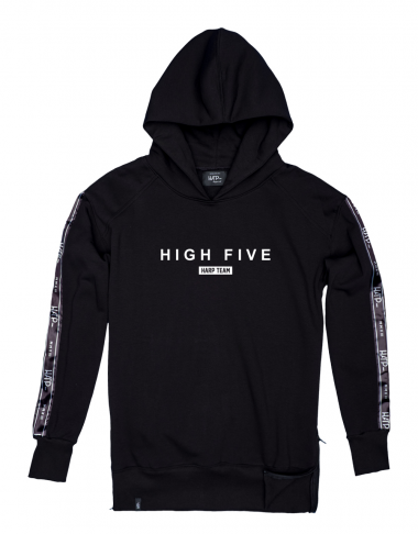 Bluza Hoodie Ex Ove High Five Black