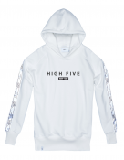 Bluza Hoodie Ex Ove High Five White